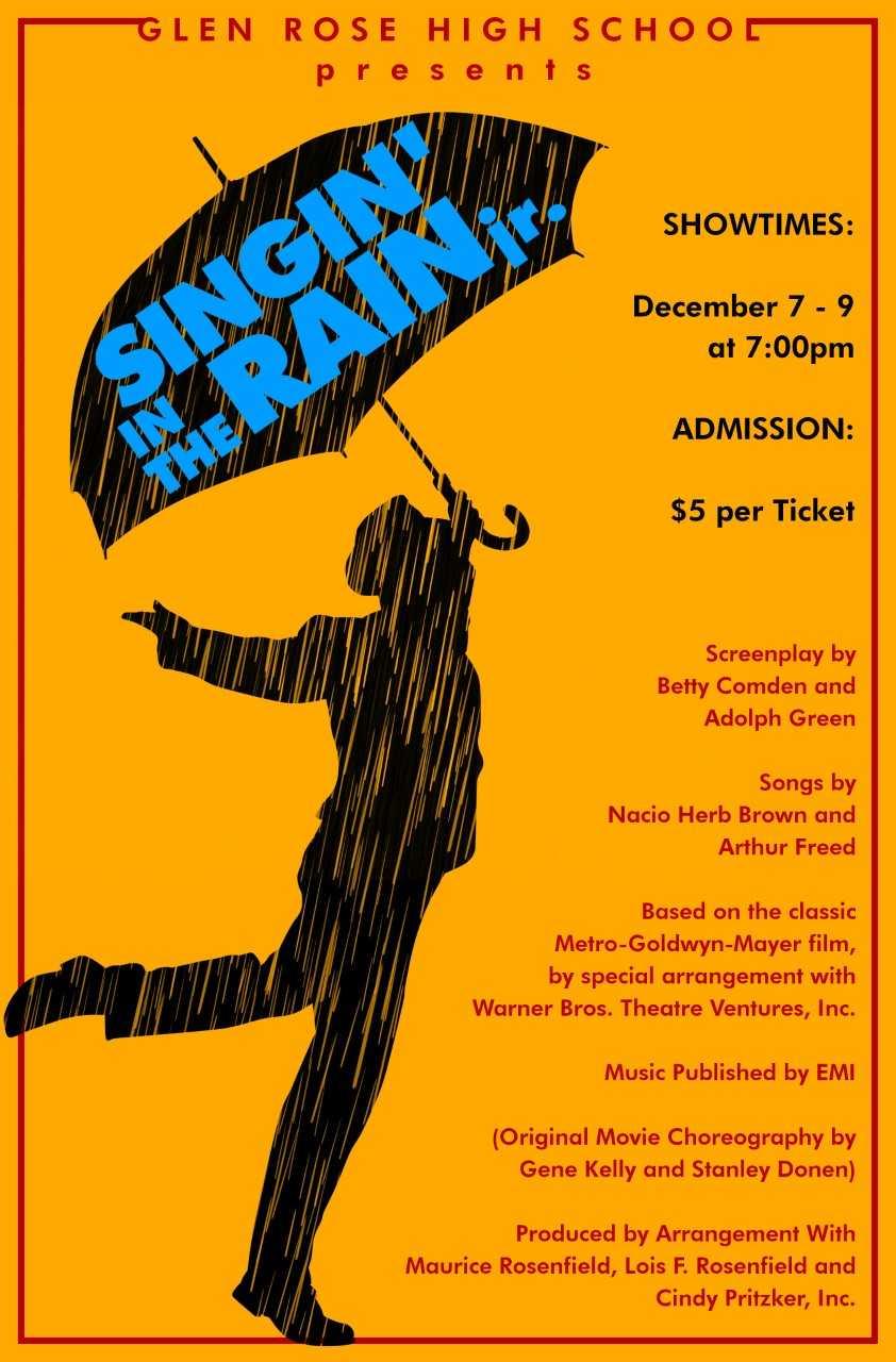 Dec. 7-9 Singin' in the Rain jr.