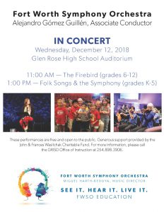 FWSO in Concert at GRISD