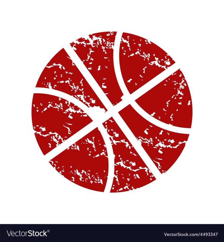 red basketball logo