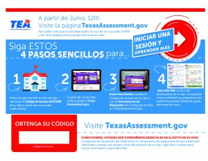 Picture of STAAR Results flyer_Spanish