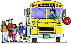 Picture of students getting on bus