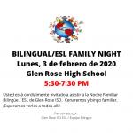 Flyer Bilingual_ESL Family Night
