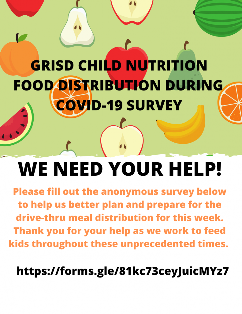 Picture of Child Nutrition Survey Info