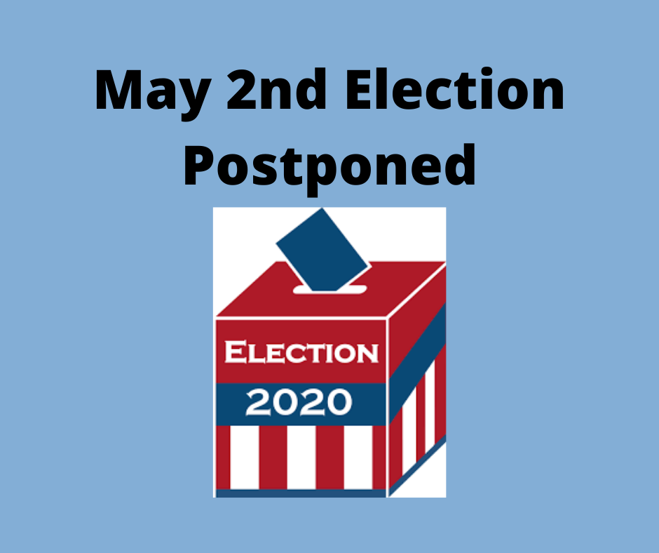 Picture May 2nd Election Postponed