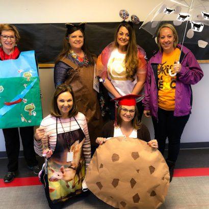 gris 5th grade teachers Halloween