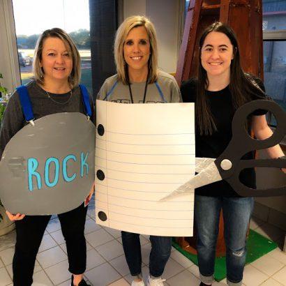 gris life skills teachers Halloween
