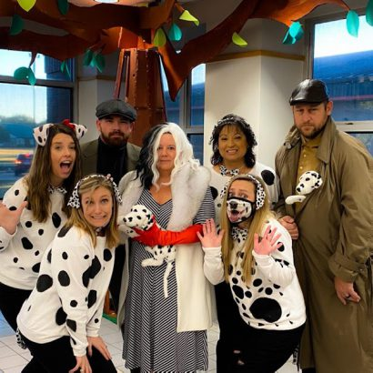gris office staff Halloween