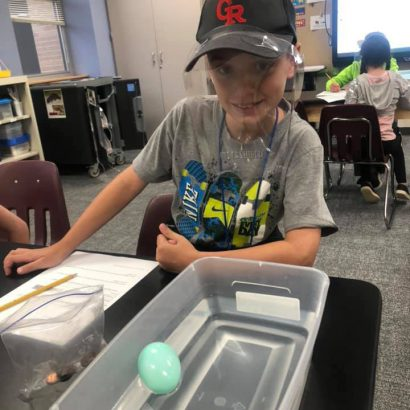 GRIS Sink or Float experiment
