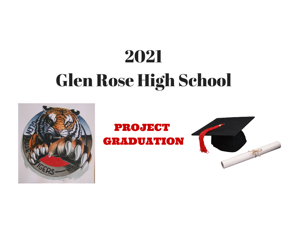 2021 GRHS Project Graduation graphic