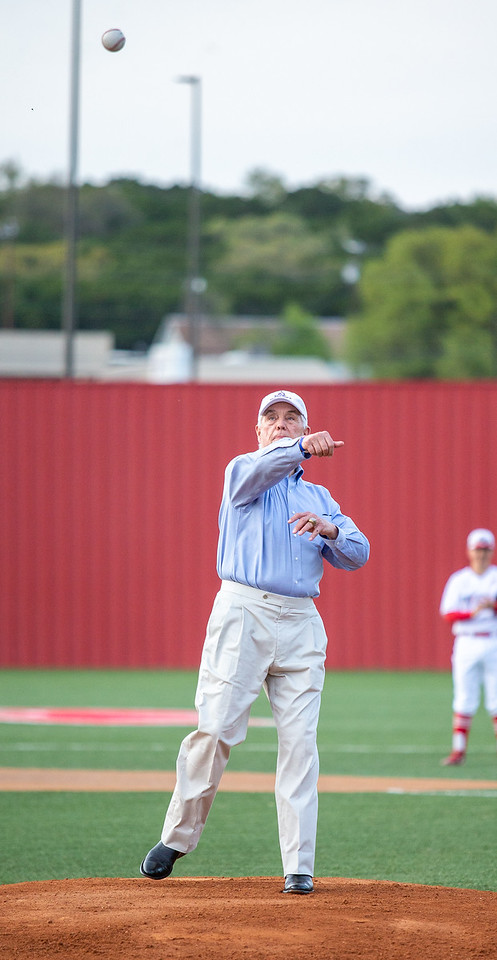Roger Williams First Pitch